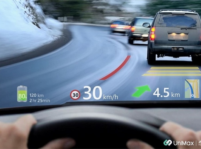 UniMax Introduces World's First MAVE AR HUD for Automotive